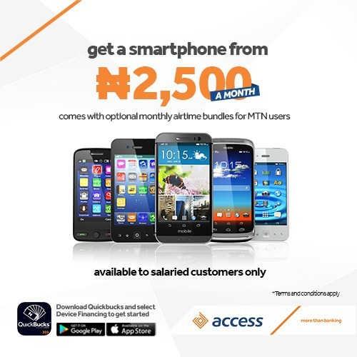 Access Bank Device Finance scheme