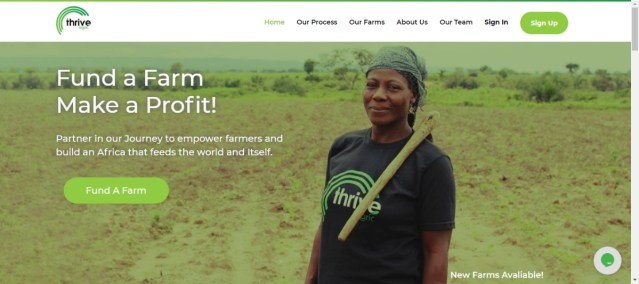top 10 agric investment platforms in Nigeria