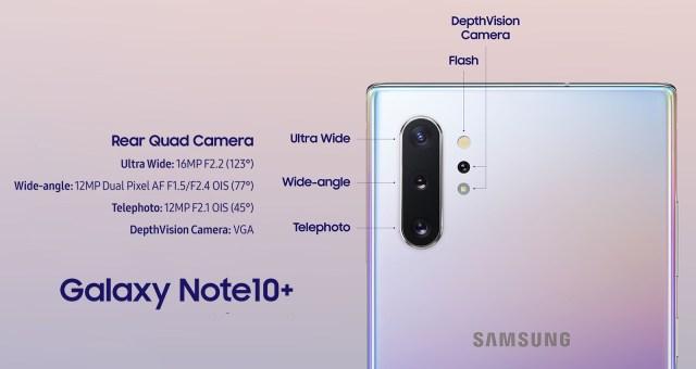 Galaxy Note 10+ camera samples
