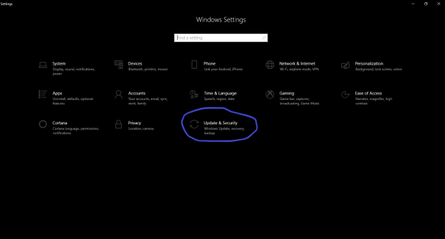 Windows 10 PC Factory reset