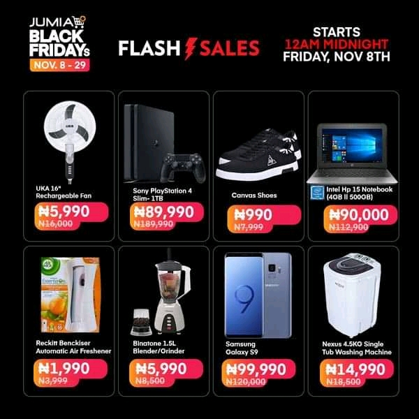 Jumia Nigeria Black Friday