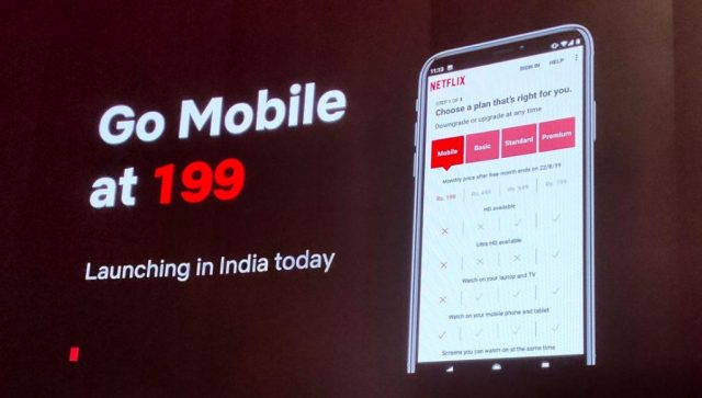 Netflix Mobile Plan