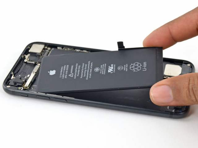 Ageing phone battery