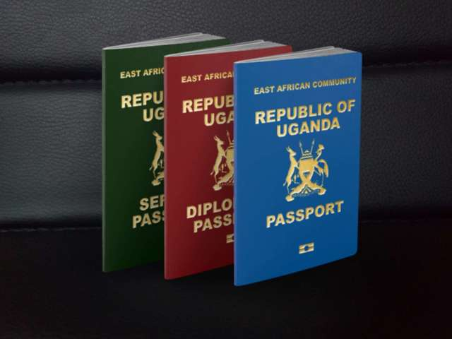 Ugandan e-passport