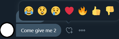 Twitter messaging emojis
