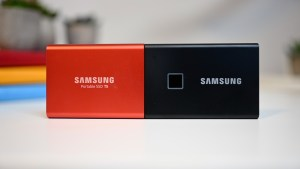 samsung T5 and T7 touch
