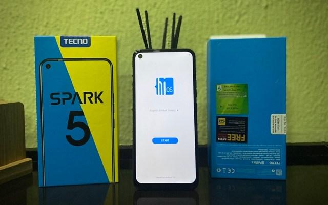 TECNO Spark 5 Unboxing