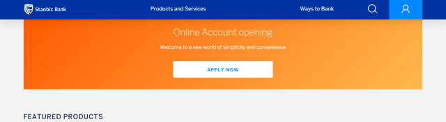 scroll down to the place that has 'Online Account Opening'