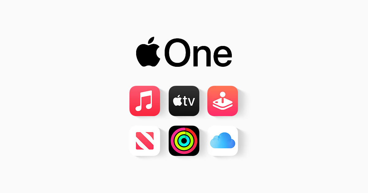 Apple One Announced, Apple Music, Apple TV+, Apple Arcade, More Bundled