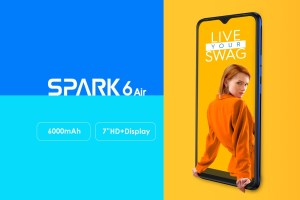 Tecno Spark 6 Air with 6000mAh: Price and Specs