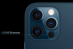 What can the iPhone 12 LiDAR scanner do