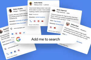 How to Create a Virtual 'Add Me to Search' Google Card
