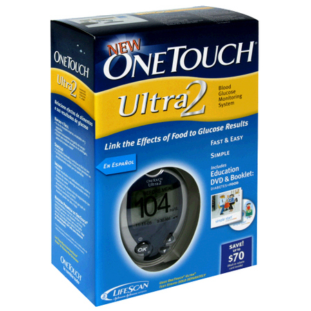 Lifescan One Touch Ultra 2 Blood Glucose Meter