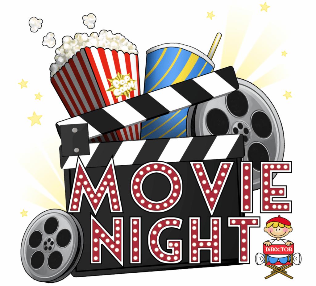 hight resolution of free movie night clipart 01