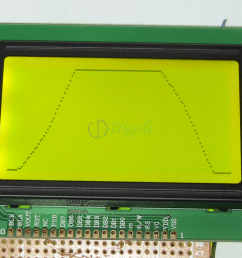 accessories serial paralle 128x64 lcd display black yellowgreen  [ 1001 x 786 Pixel ]