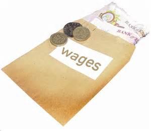 wages の定義: 類義語、反義語、発音