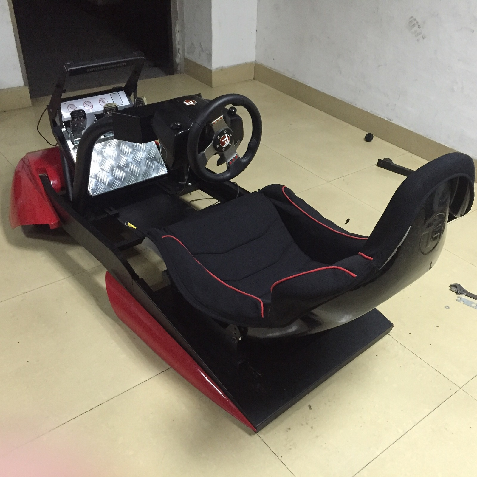 f1 racing chair wheelchair transport formula game simulator cockpit seat race