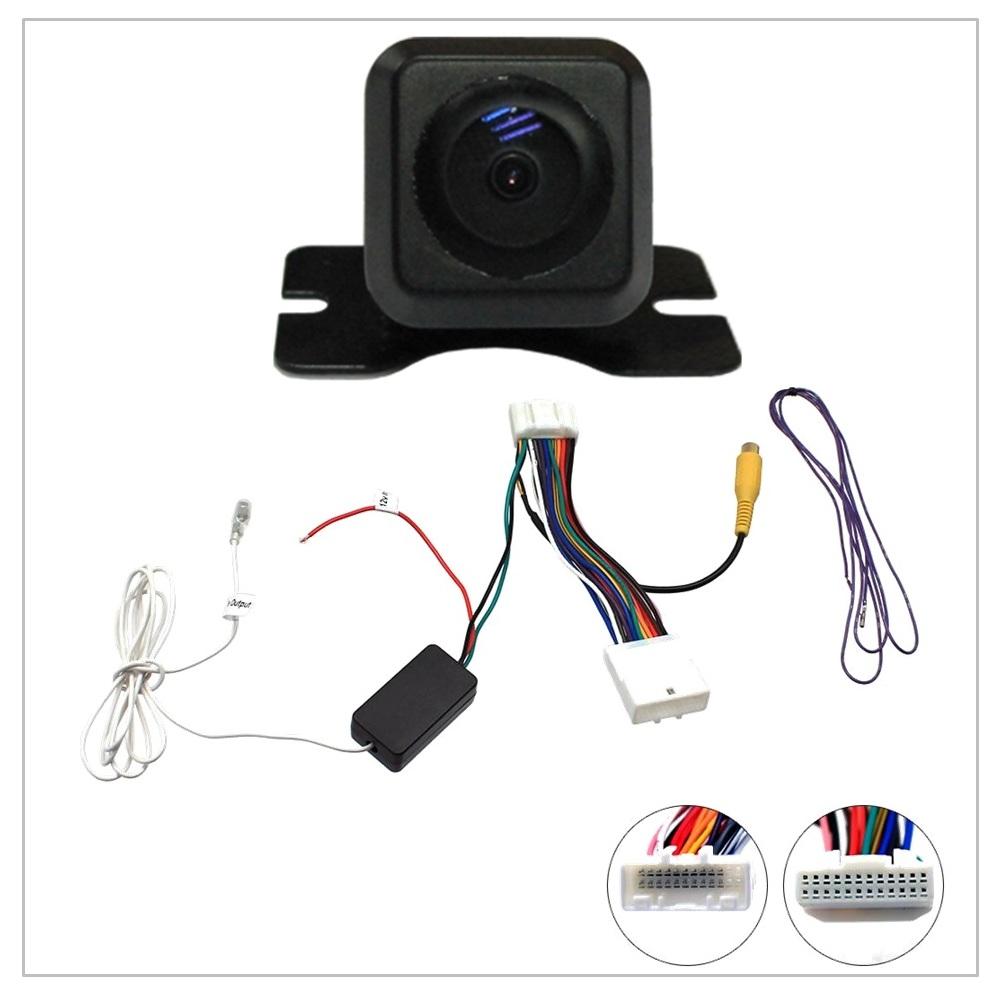 hight resolution of reverse camera stereo adapter for original toyota subaru colour screen