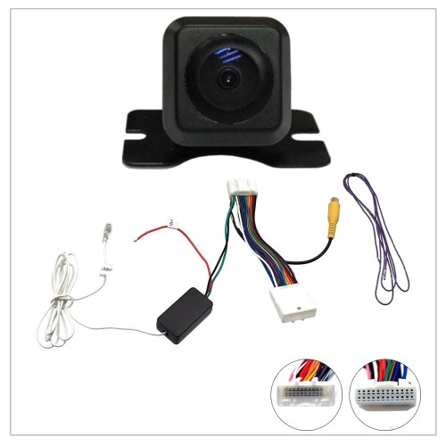 small resolution of reverse camera stereo adapter for original toyota subaru colour screen