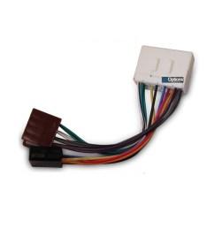 iso wiring harness loom plugs holden commodore vt vx monaro ute car stereo radio [ 1000 x 1000 Pixel ]
