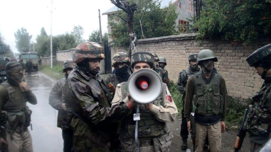 Four LeT militants killed; Three Army Men Injured in Pulwama encounter