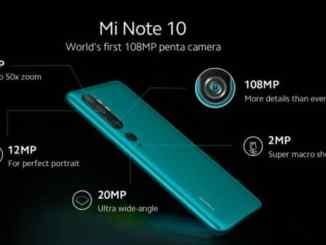 Xiaomi's CC9 Pro twin Mi Note 10 with 108-megapixel image sensor to release outside China