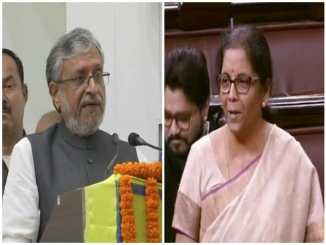 Sushil Modi replaces FM Nirmala Sitharaman as head of GoM on IGST