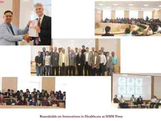 Roundtable on Innovations in Healthcare at SIBM Pune