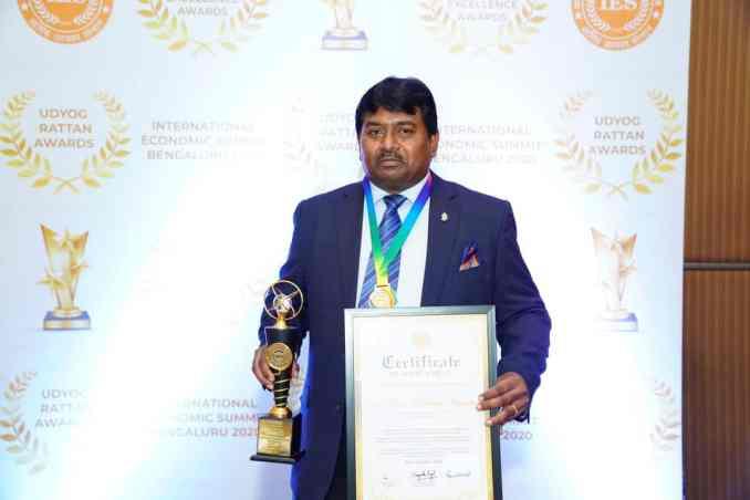 Dr Hari Krishna Maram Felicitated For Contribution Towards Digital India - Digpu