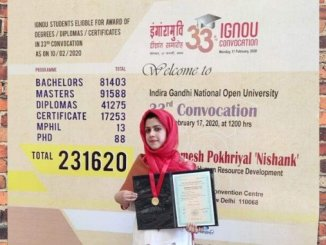 Srinagar Girl Mir Barieq Manzoor Tops Bachelor Of Commerce In IGNOU - Digpu