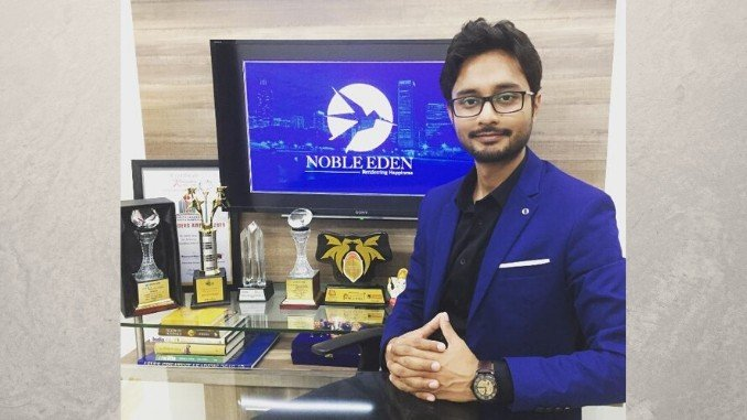 Noble Eden is finding happiness in service of nature - Mohit Sinha - Social News Digpu