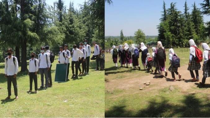 Amid pandemic, ideal school wish comes true for students in Pulwama village