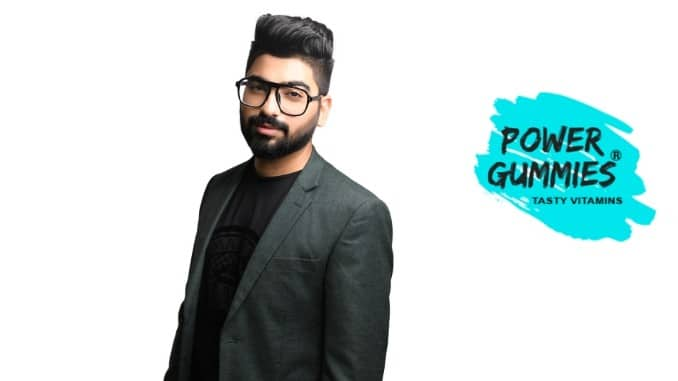 Founded by Mr.Divij Bajaj in 2018, Power Gummies a product of  Aesthetic Nutrition Pvt. Ltd