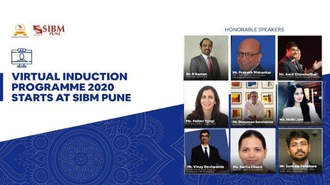 SIBM Pune kickstarts the onboarding of MBA, MBA(I&E) and MBA(L&S) 2020-2022 Programmes - Education News Digpu