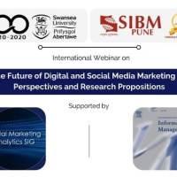 SIBM Pune And Swansea University UK Jointly Host An International Webinar