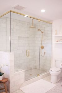 Picture Of large marble shower tiles