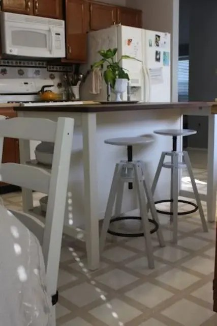 small side table for living room furniture coffee tables how to rock ikea dalfred bar stool in your décor: 21 ideas ...