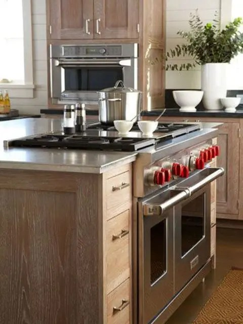 kitchen island with stove table sets target 31 smart islands built in appliances digsdigs a cooker