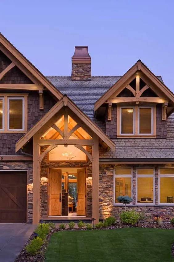 5 Most Popular Gable Roof Types And 26 Ideas DigsDigs