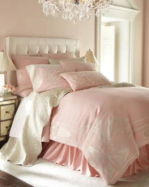 feminine adult bedroom pink 36 Adorable Bedding Ideas For Feminine Bedrooms - DigsDigs