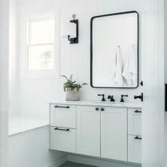 Shabby Chic Living Room Chairs Restaurant Dining Canada Modern Scandi-inspired White Farmhouse Design - Digsdigs