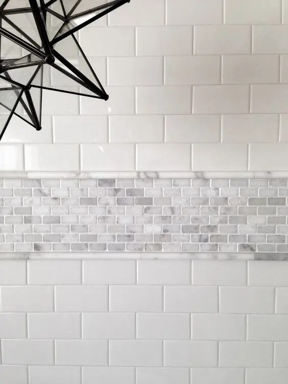 29 Ideas To Use All 4 Bahtroom Border Tile Types
