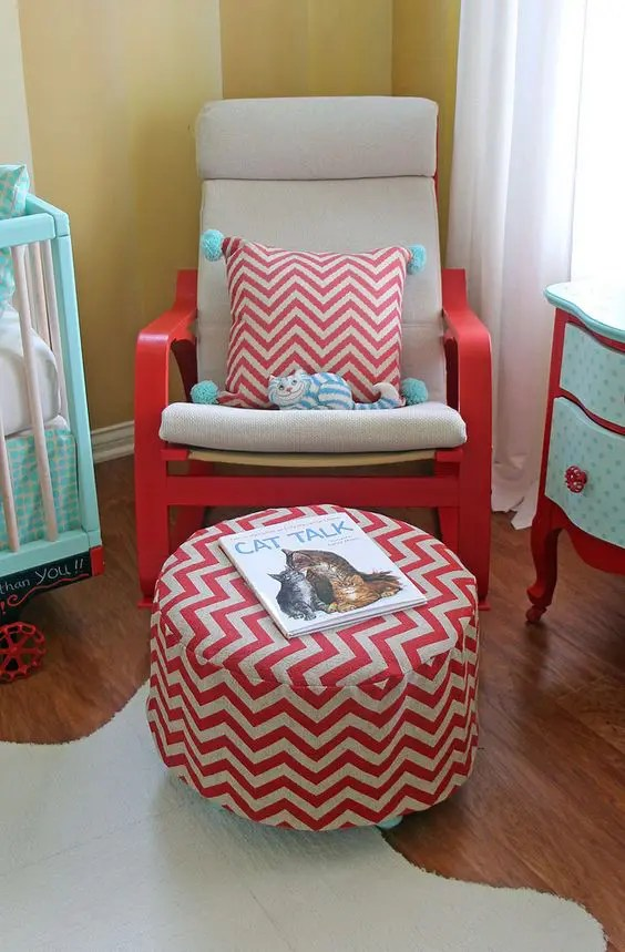 Poang Chair Slipcover Stickelberry