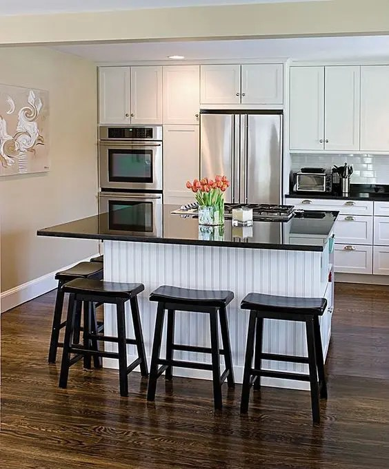 kitchen island and table cabinet organizing ideas 30 islands with seating dining areas digsdigs used as a