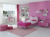 15 Cool Ideas For Pink Girls Bedrooms - DigsDigs