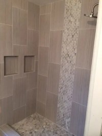 37 Ideas To Use All 4 Bahtroom Border Tile Types - DigsDigs