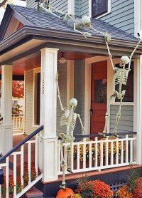 125 Cool Outdoor Halloween Decorating Ideas