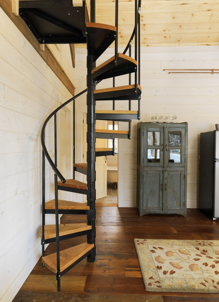35 Really Cool Space Saving Staircase Designs Digsdigs | Duplex Staircase For Small House | Tiny Staircase | Traditional | Small Space | Wooden Stair | Readymade