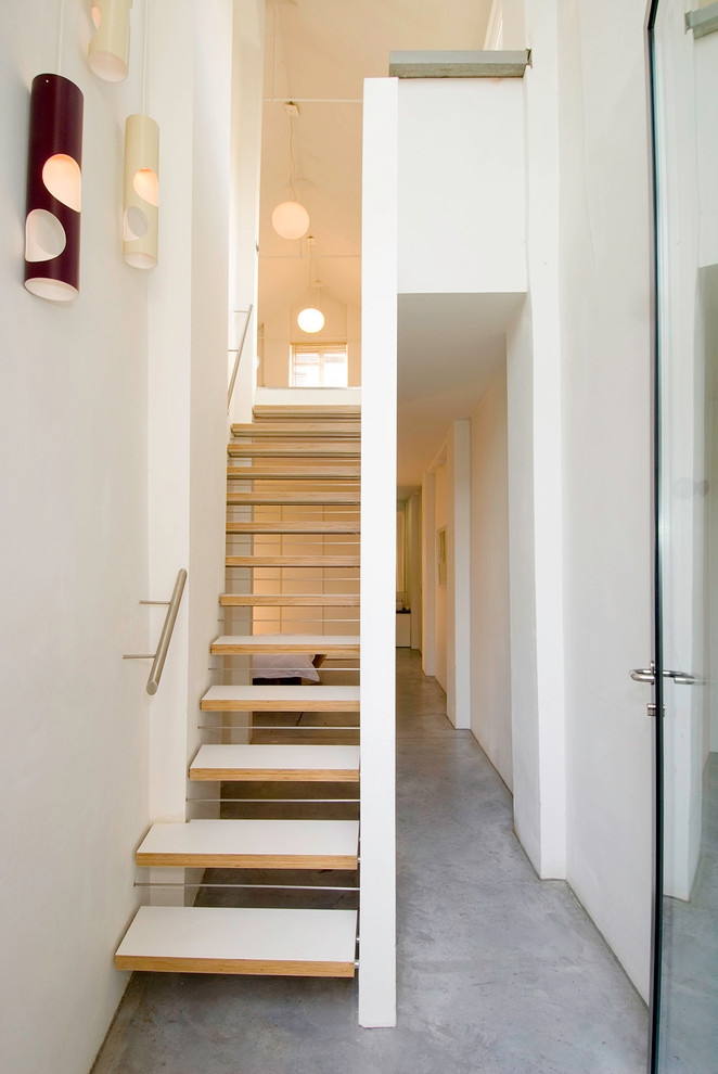 35 Really Cool Space Saving Staircase Designs Digsdigs | Ladder Design For Small House | Small Cabin | Inexpensive | Elegant | Easy | Retractable