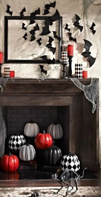 70 Great Halloween Mantel Decorating Ideas - DigsDigs